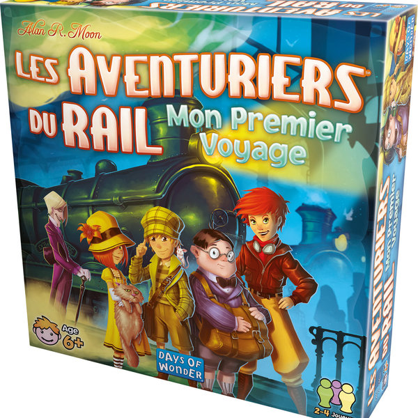 DAYS OF WONDER AVENTURIERS DU RAIL : MON PREMIER VOYAGE