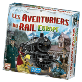 DAYS OF WONDER AVENTURIERS DU RAIL EUROPE (FR)