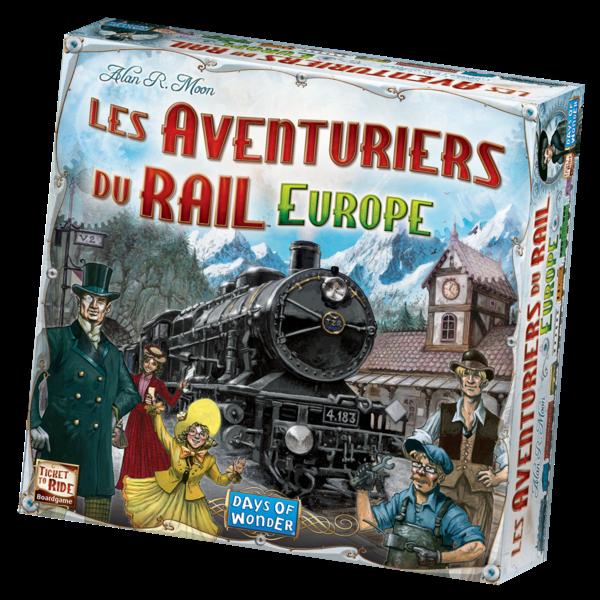 DAYS OF WONDER AVENTURIERS DU RAIL EUROPE (FR)