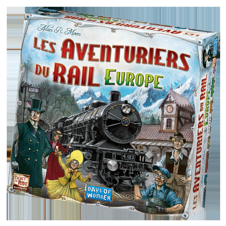 DAYS OF WONDER AVENTURIERS DU RAIL EUROPE