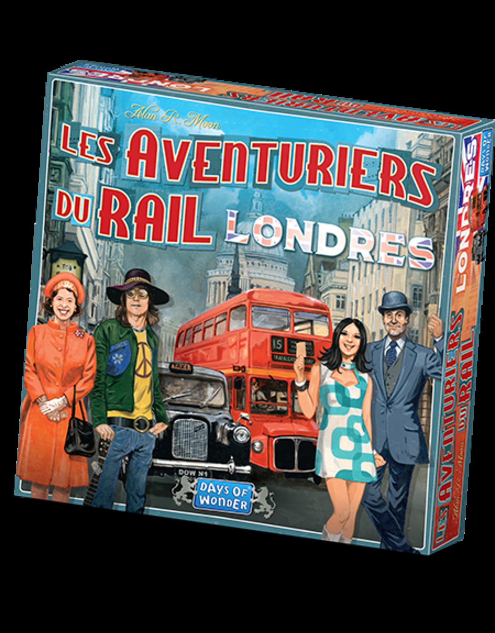 DAYS OF WONDER AVENTURIERS DU RAIL EXPRESS : LONDRES (FR)