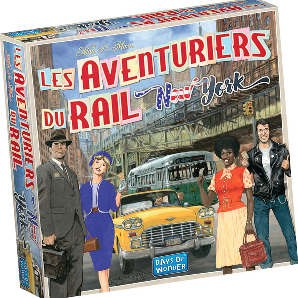 DAYS OF WONDER AVENTURIERS DU RAIL EXPRESS : NEW YORK 1960 (FR)