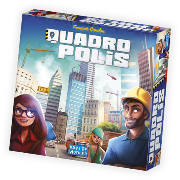 DAYS OF WONDER QUADROPOLIS (FRANCAIS)
