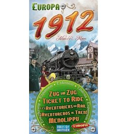 DAYS OF WONDER TICKET TO RIDE : EUROPA 1912 (ML)