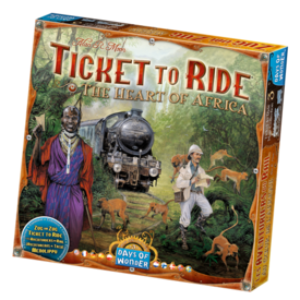 DAYS OF WONDER TICKET TO RIDE : MAP #3 - AFRICA (MULTI)