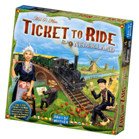 DAYS OF WONDER TICKET TO RIDE : MAP #4 - NEDERLAND (MULTI)