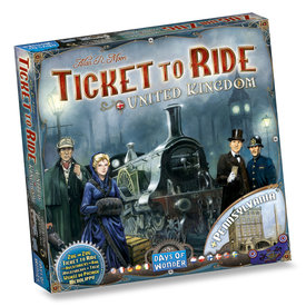 DAYS OF WONDER TICKET TO RIDE : MAP #5  - UNITED KINGDOM (ML)
