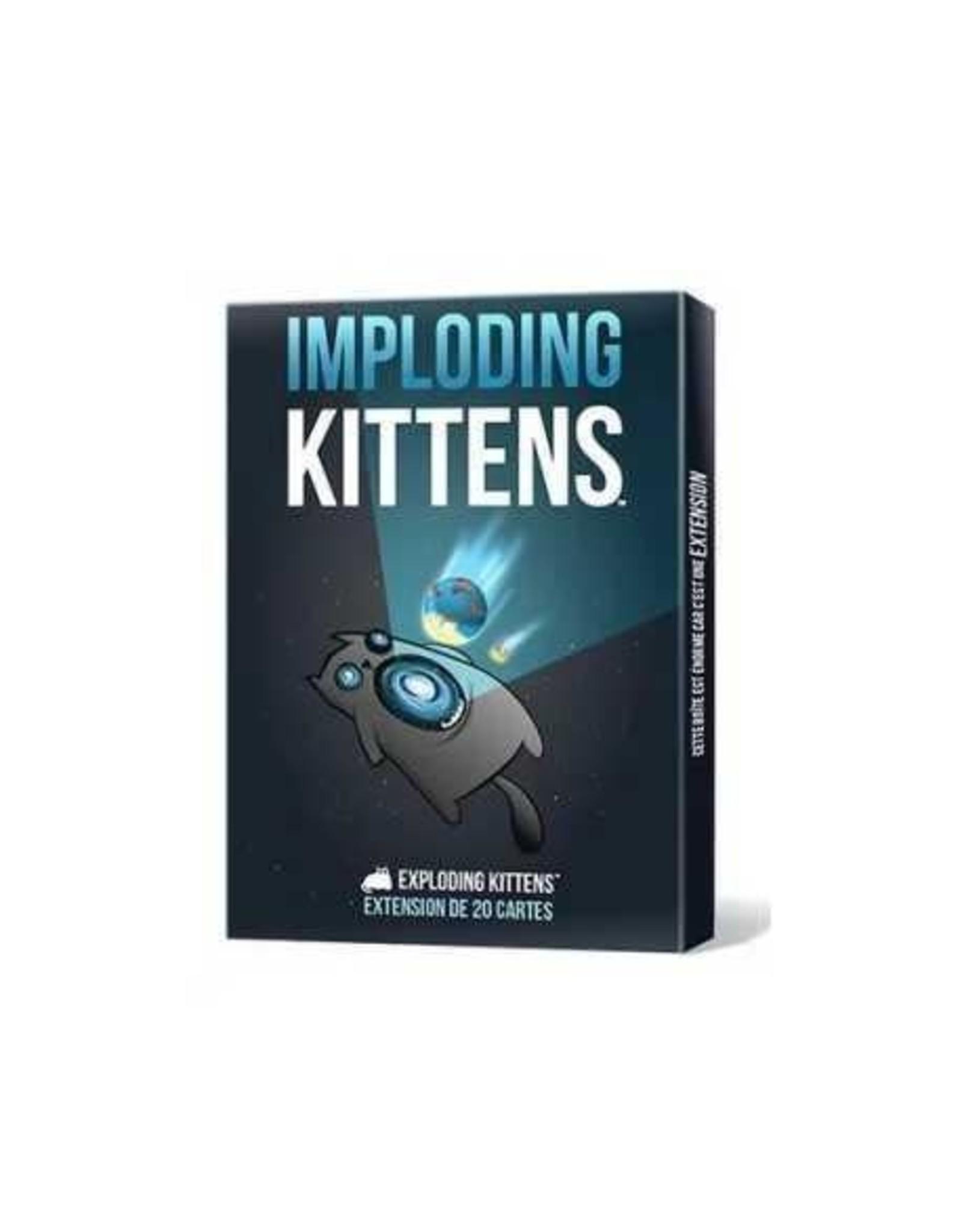EXPLODING KITTENS EXPLODING KITTENS - EXT. IMPLODING KITTENS (FR)