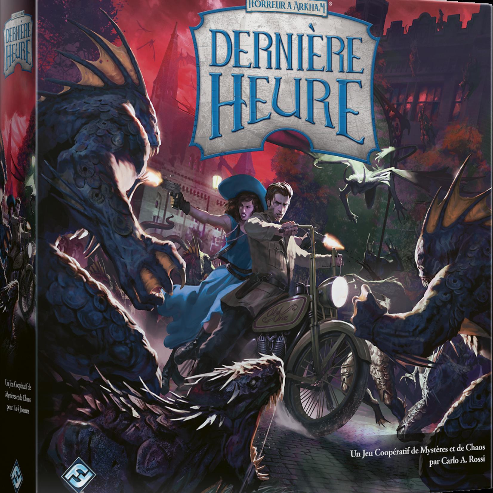 FANTASY FLIGHT HORREUR A ARKHAM : DERNIERE HEURE (FR)