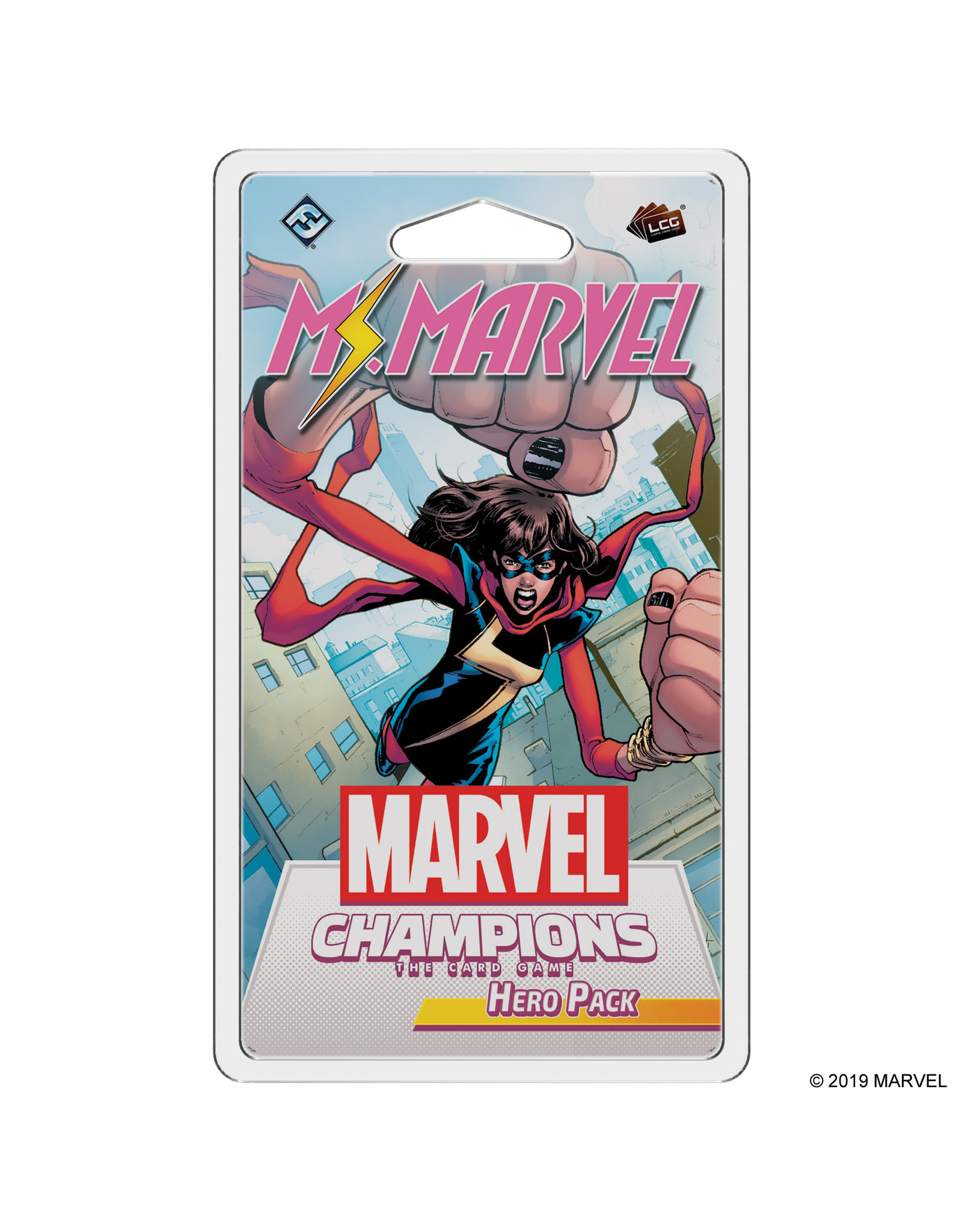 FANTASY FLIGHT MARVEL CHAMPIONS LE JEU DE CARTES: MISS MARVEL