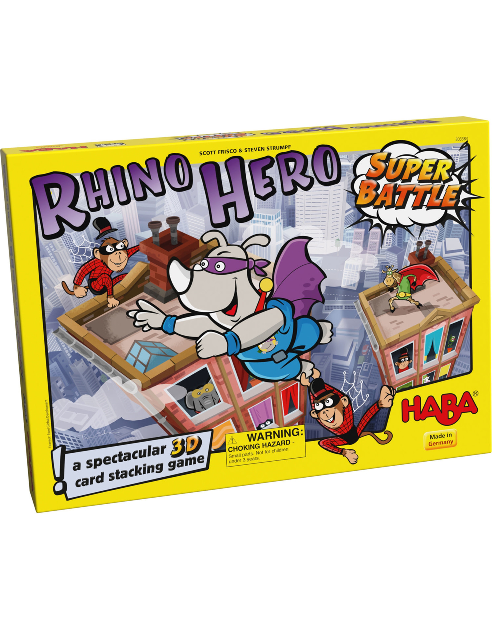 HABA RHINO HERO: SUPER BATTLE (ML)