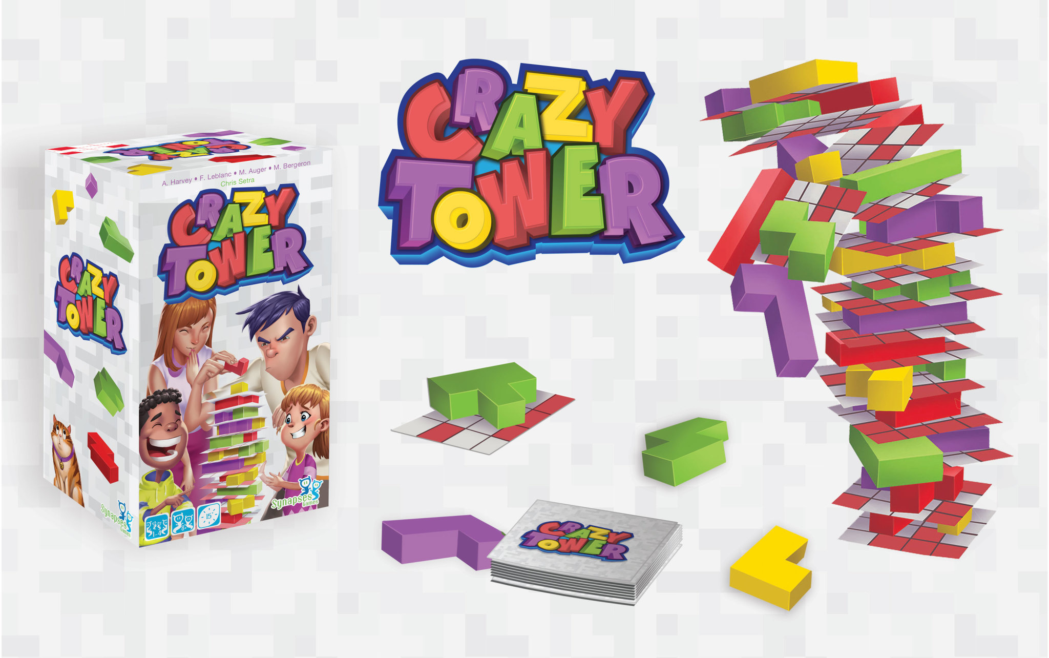 SYNAPSES GAMES CRAZY TOWER (ML)