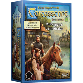 Z-MAN GAMES CARCASSONNE - EXT. AUBERGES ET CATHEDRALES