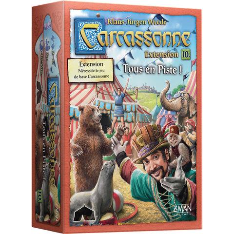 CARCASSONNE - EXT. TOUS EN PISTE