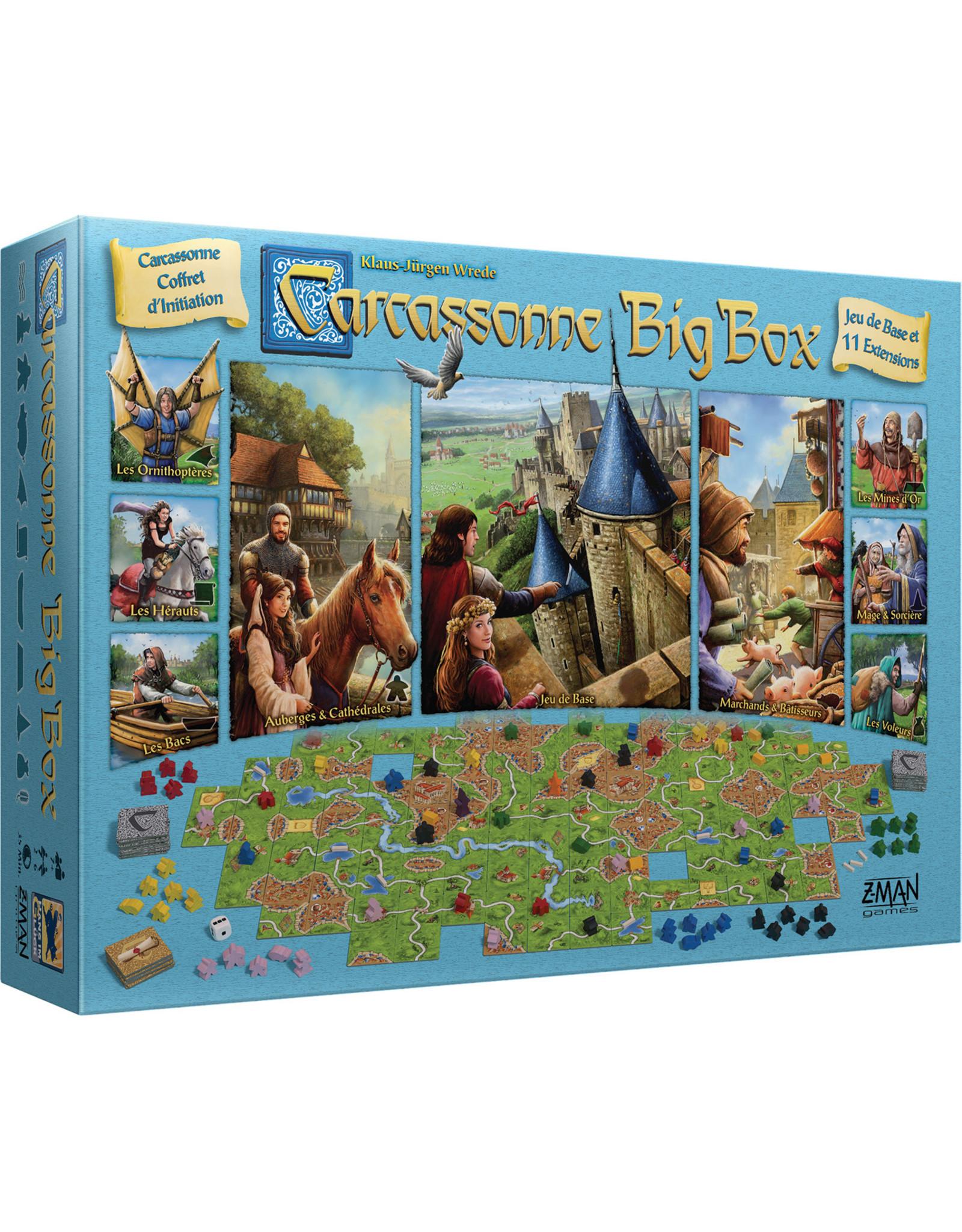 Z-MAN GAMES CARCASSONNE BIG BOX (FR)
