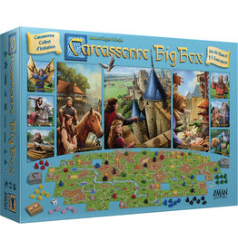 Z-MAN GAMES CARCASSONNE BIG BOX (FR)