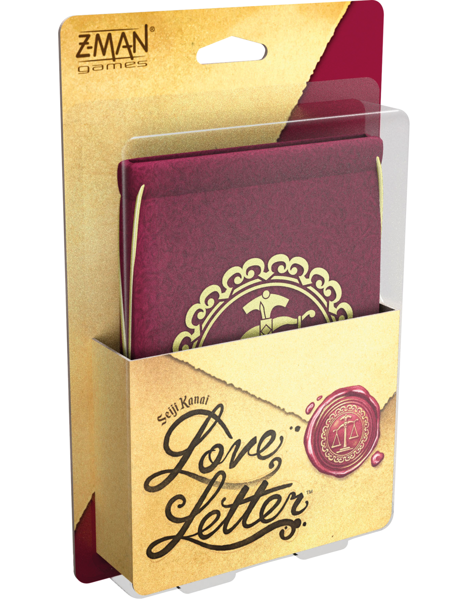 Z-MAN GAMES LOVE LETTER (FR)