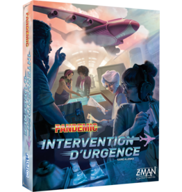 Z-MAN GAMES PANDEMIC: INTERVENTION D'URGENCE