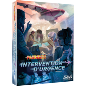 Z-MAN GAMES PANDEMIC: INTERVENTION D'URGENCE