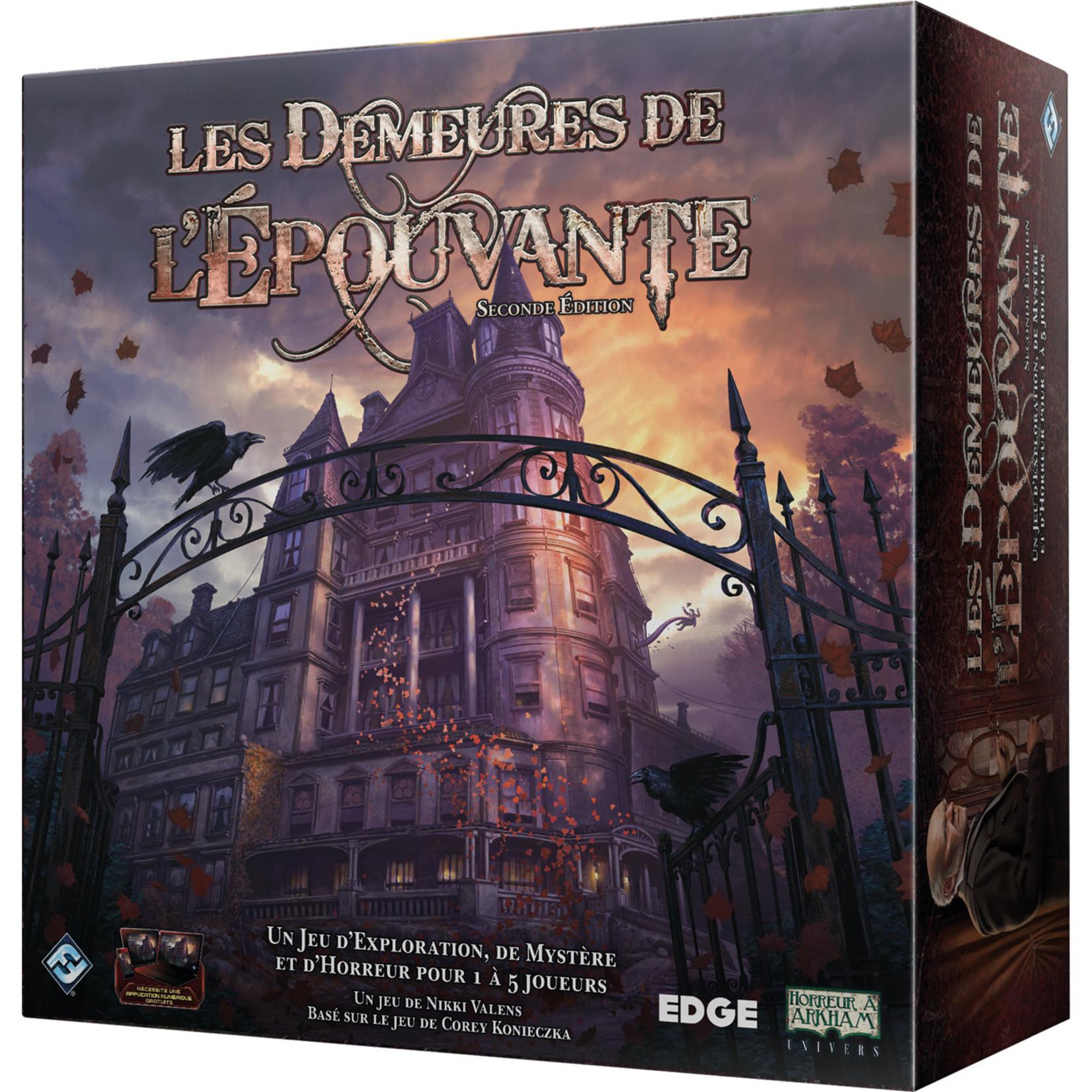 FANTASY FLIGHT LES DEMEURES DE L'EPOUVANTE : 2E EDITION (FR)