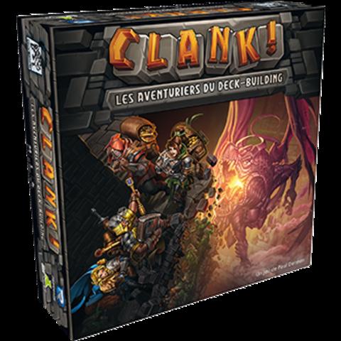 Clank: Les Aventuriers du Deck-building