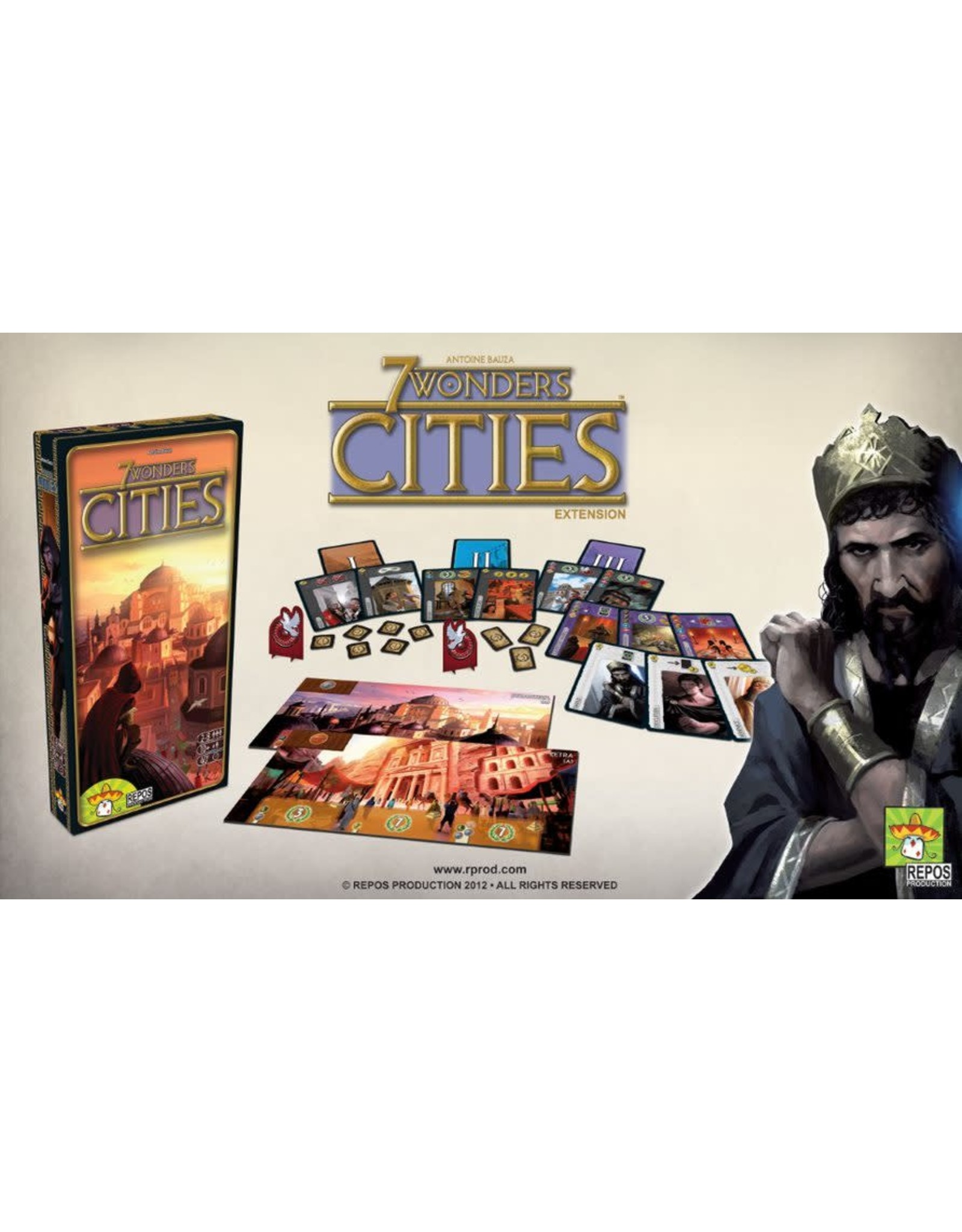Repos 7 Wonders / Cities