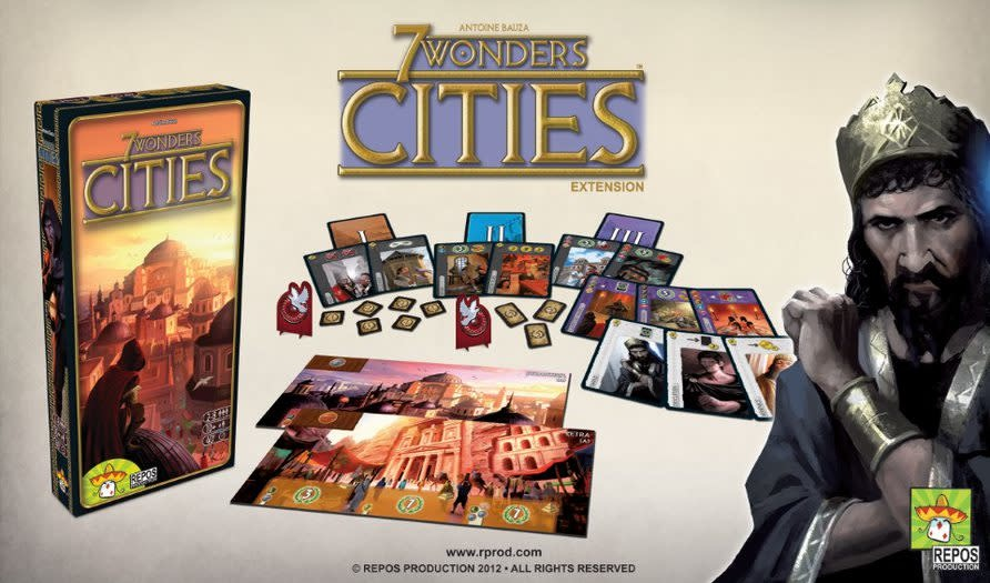 Repos 7 Wonders / Cities