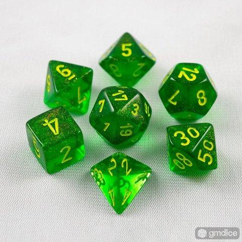 BOREALIS 7-DIE SET MAPLE GREEN/YELLOW