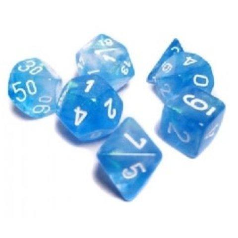 BOREALIS 7-DIE SET SKY BLUE/WHITE