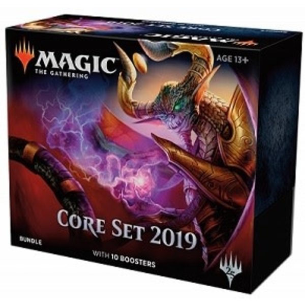 Wizards of the Coast MTG CORE 2019 BUNDLE