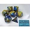 GEMINI 7-DIE SET BLUE-GOLD/WHITE