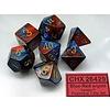 GEMINI 7-DIE SET BLUE-RED/GOLD
