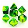 GEMINI 7-DIE SET GREEN-YELLOW/SILVER