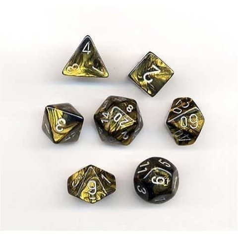 LEAF 7-DIE SET BLACK GOLD/SILVER