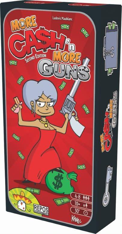 Repos Cash'N Guns / More Cash More Guns (bil)