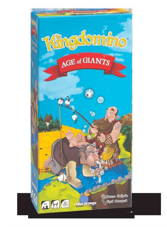 Blue Orange Kingdomino / Âge des géants (bilingue)