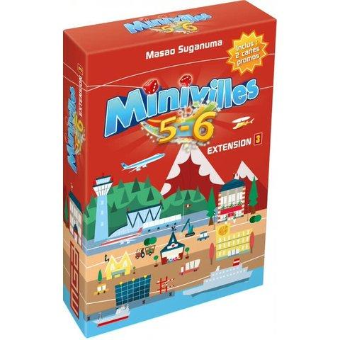 Minivilles / Extension 5 - 6 joueurs (fr)