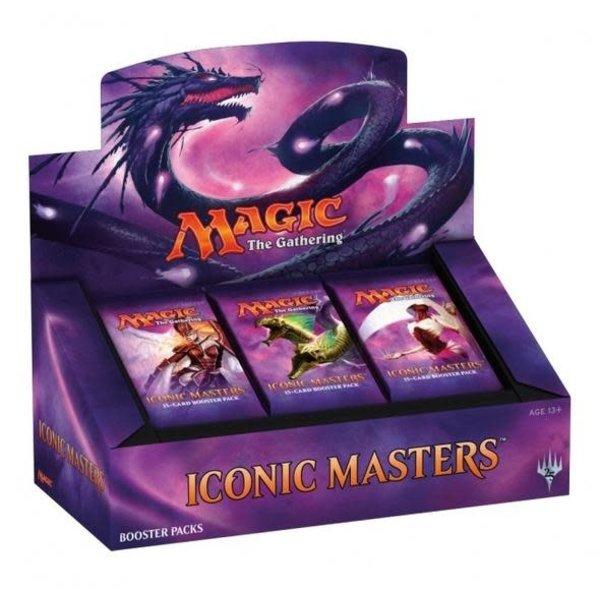 Wizards of the Coast MTG ICONIC MASTERS BOX