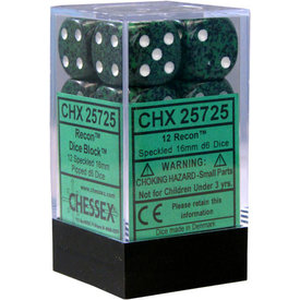 CHESSEX SPECKLED 12D6 RECON 16MM