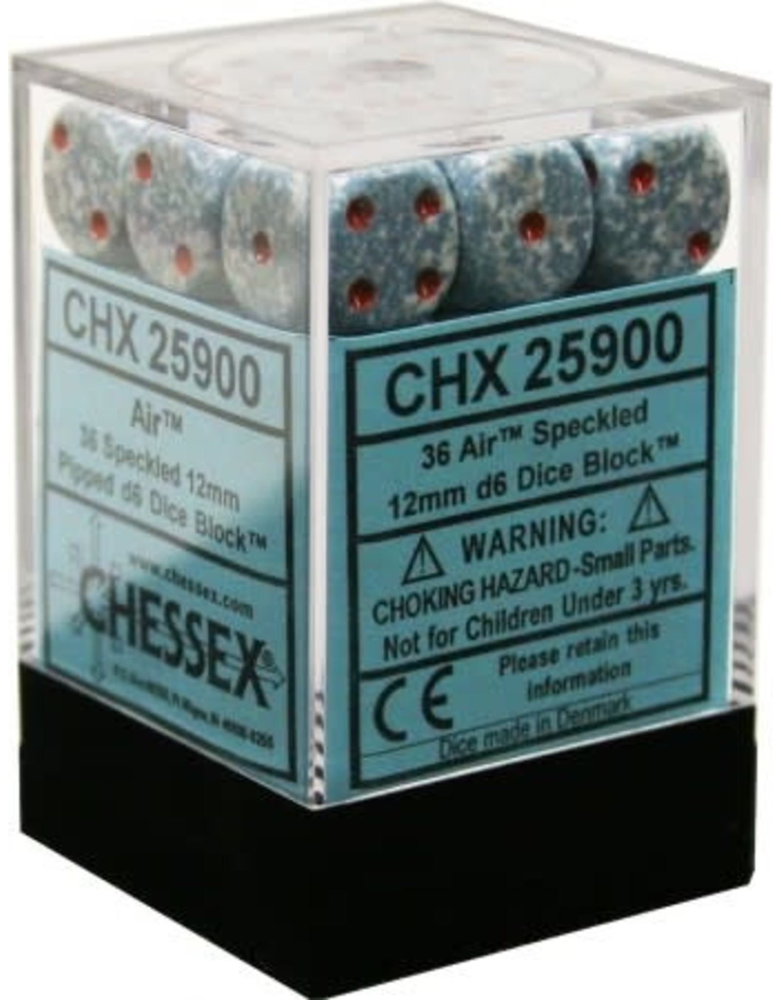 CHESSEX SPECKLED 36D6 AIR 12MM