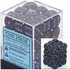 SPECKLED 36D6 BLUE STARS 12MM