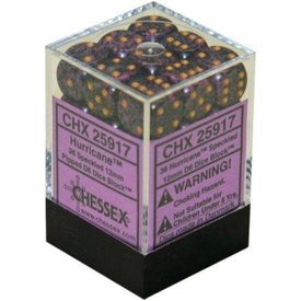 CHESSEX SPECKLED 36D6 HURRICANE 12MM