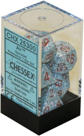 CHESSEX SPECKLED 7-DIE SET AIR