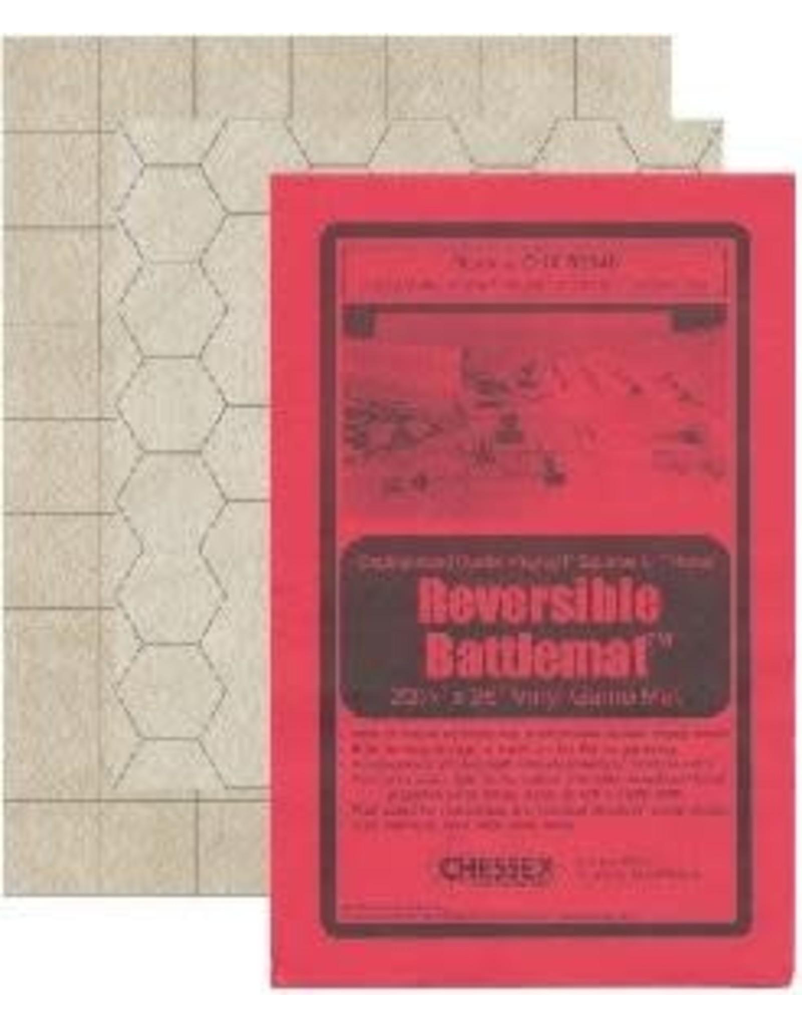 """CHESSEX BATTLEMAT 1"""" REVERISBLE SQUARE/HEX 26""""x 23½""""(66x60cm)"""