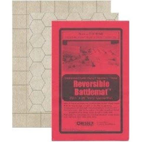 """BATTLEMAT 1"""" REVERISBLE SQUARE/HEX 26""""x 23½""""(66x60cm)"""