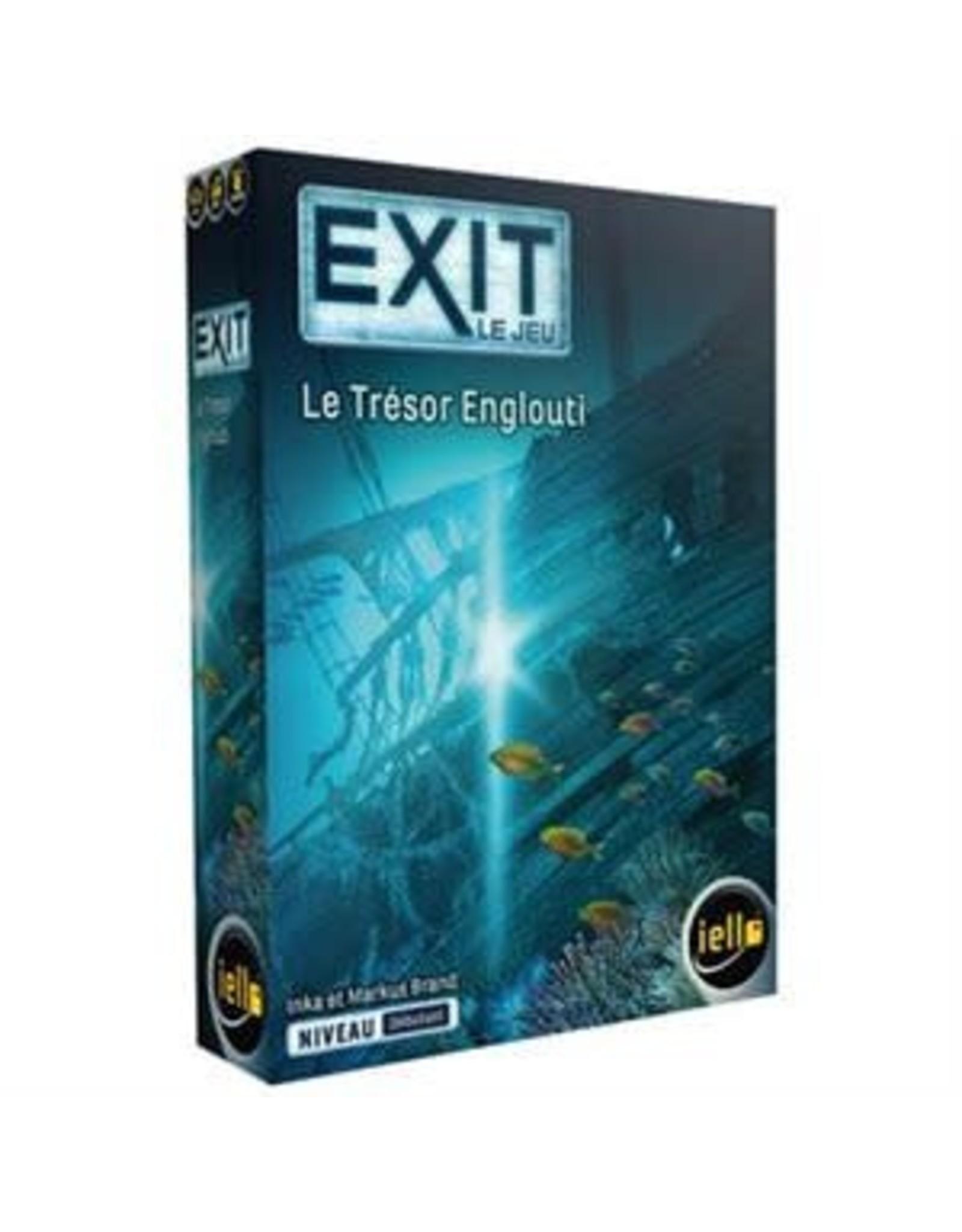 Iello EXIT : LE TRESOR ENGLOUTI (FR)