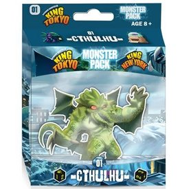 Iello KING OF TOKYO/NY- MONSTER PACK: CTHULHU (EXT) (FR)