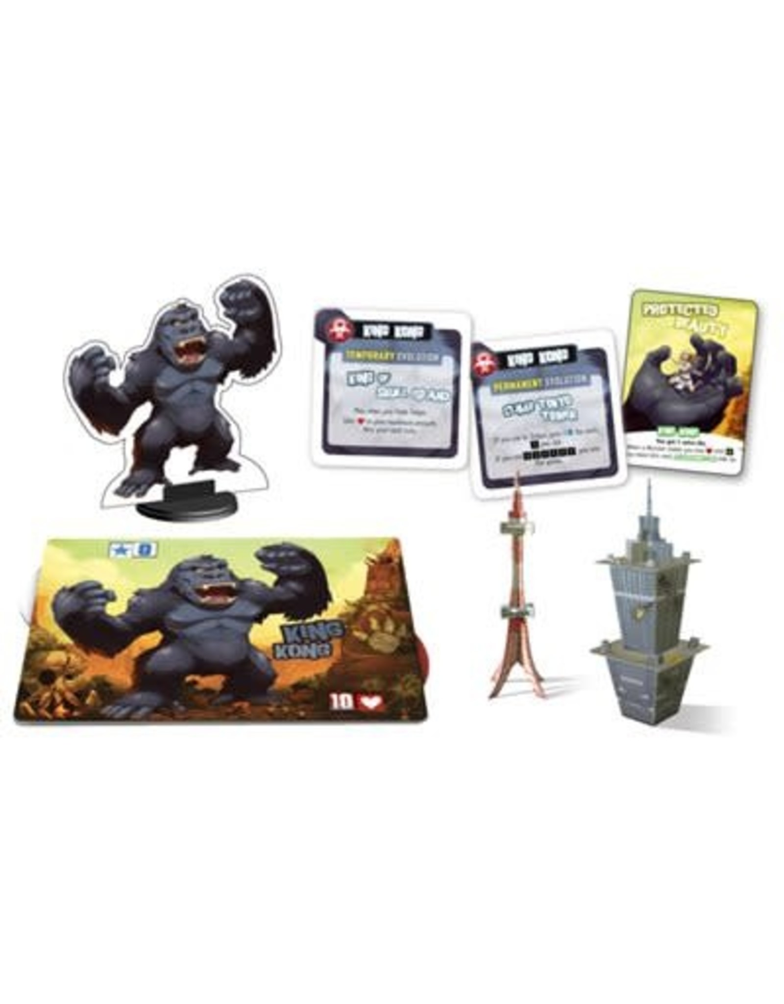 Iello KING OF TOKYO/NY- MONSTER PACK: KING KONG (EXT) (FR)