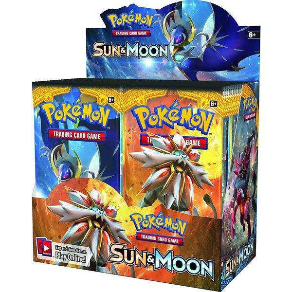 POKEMON POKEMON SUN & MOON BOOSTER BOX