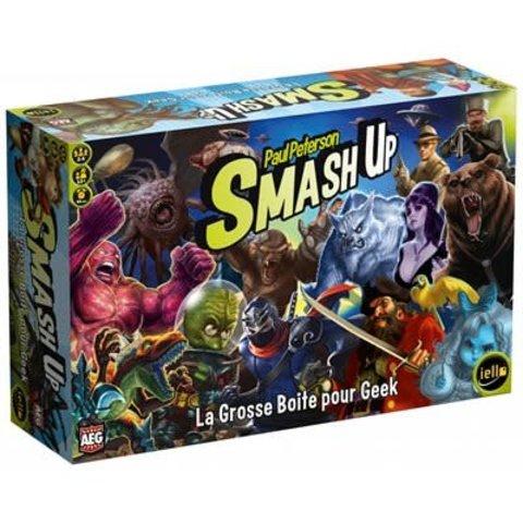 SMASH UP EXT.- LA GROSSE BOITE POUR GEEK (FR)
